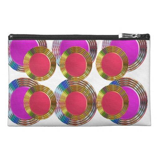 Disco redondo del disco de los círculos rosados RO