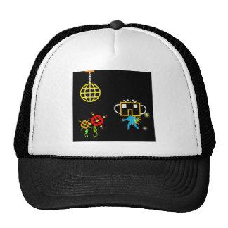 Disco Robo Hat