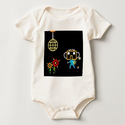 Disco Robo Traje De Bebé