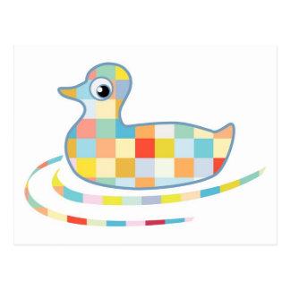 Disco Rubber Ducky Postcard