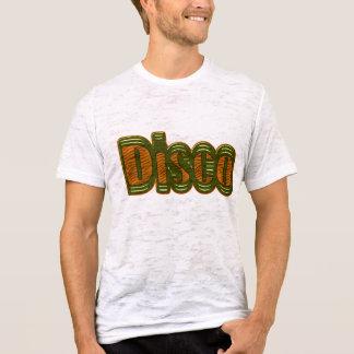 Disco Shirt - Orange and Green