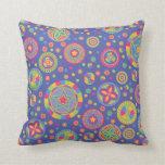 Disco Starry Circles Pillow