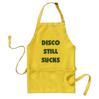 Disco Still Sucks Adult Apron