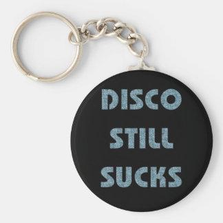 Disco Still Sucks Keychains