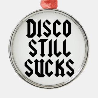 DISCO STILL SUCKS ornament