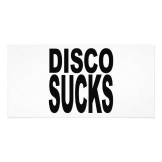 Disco Sucks Card