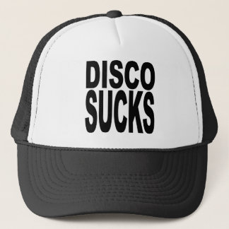 Disco Sucks Trucker Hat