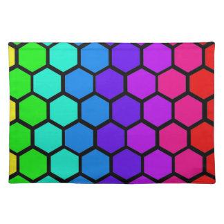 disco tile place mat