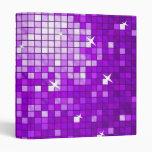 Disco Tiles Purple binder