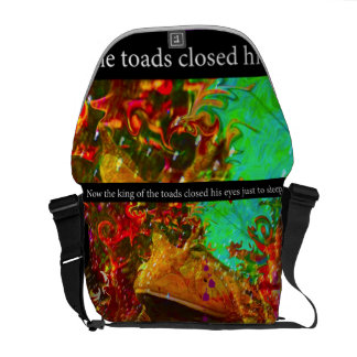 Disco Toad Messenger Bag by deprise brescia