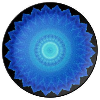 Disco único de Starburst Plato De Cerámica