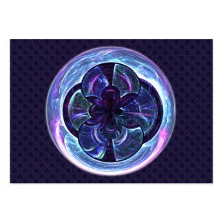 Disco Warp Mandala - Artist Trading Card  ACEO Business Card Templates