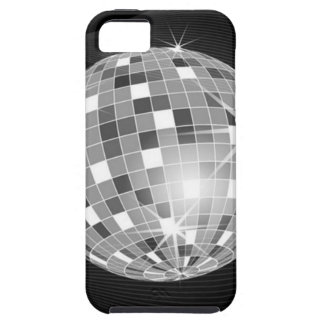Discoball on black background design iPhone SE/5/5s case