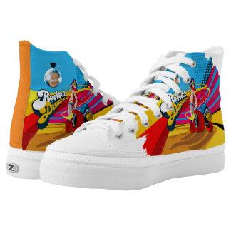 Discobama High-Top Sneakers