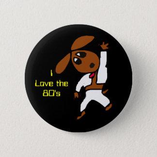 discodox, I Love the80's Pinback Button