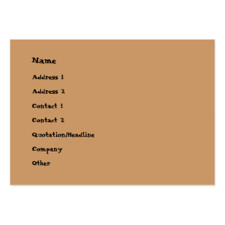 DiscoloRay Large Business Cards (Pack Of 100)