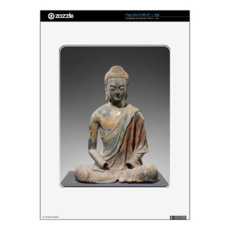 Discolored Buddha Sculpture - Tang dynasty (618) iPad Skins