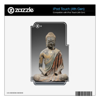 Discolored Buddha Sculpture - Tang dynasty (618) iPod Touch 4G Decals