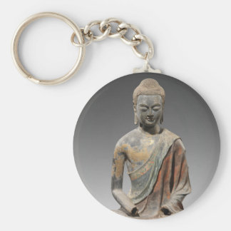 Discolored Buddha Sculpture - Tang dynasty (618) Keychain