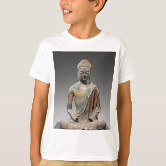 Discolored Buddha Sculpture - Tang dynasty (618) T-Shirt