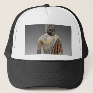 Discolored Buddha Sculpture - Tang dynasty (618) Trucker Hat