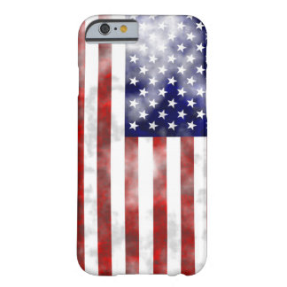Discolored usa flag barely there iPhone 6 case