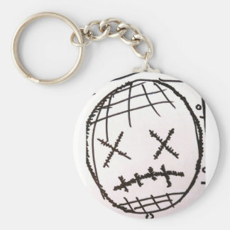 Discomfort of an Unsettled Nature Keychain