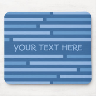 Disconnected Stripes custom mousepad