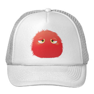 Disconsolate Furry Monster Trucker Hats