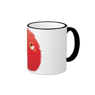 Disconsolate Furry Monster Coffee Mugs