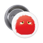 Disconsolate Furry Monster Pin