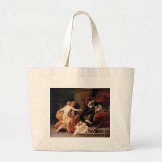Discord Expels Art and Science Theodoor van Thulde Large Tote Bag