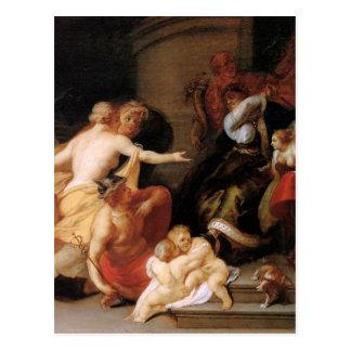 Discord Expels Art and Science Theodoor van Thulde Postcard