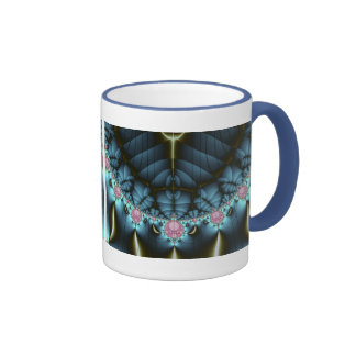 Discord - Fractal Art Ringer Coffee Mug
