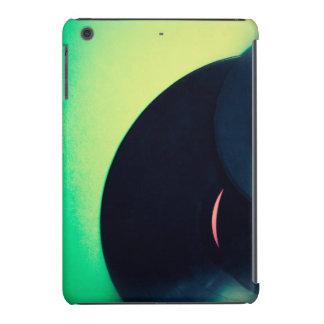 Discos de vinilo en fondo verde fundas de iPad mini retina