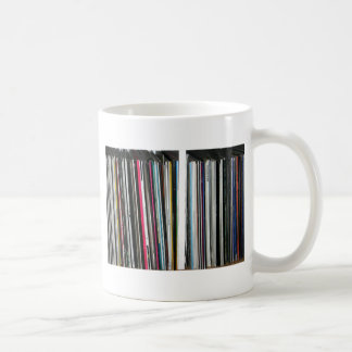 Discos de vinilo taza