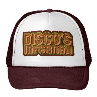 Discos infernales gorras