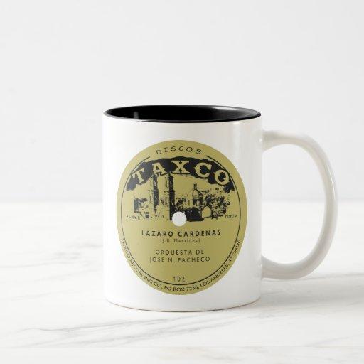 Discos Taxco Two-Tone Coffee Mug