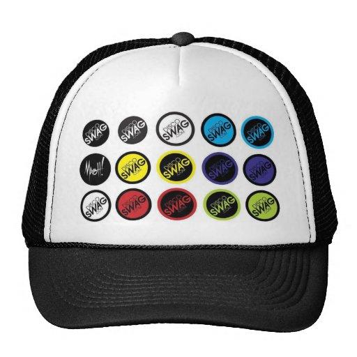 discoSWAG dots logo Mesh Hats