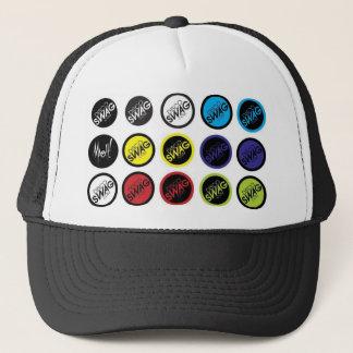 discoSWAG dots logo Trucker Hat
