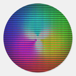 DiscoTech 5 Classic Round Sticker