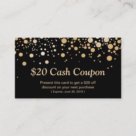 Coupon Card