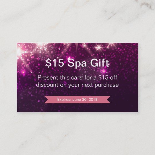 Discount coupon loyalty card pink glitter sparkles zazzle discount coupon loyalty card pink glitter sparkles colourmoves