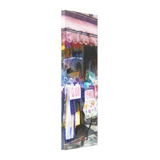 Discount Dress Shop Hoboken NJ Canvas Print