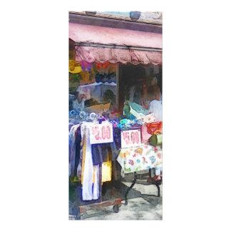 Discount Dress Shop Hoboken NJ Rack Card