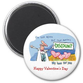 Discount Love 2 Inch Round Magnet