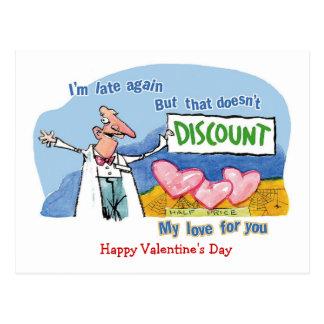 Discount Love Postcard
