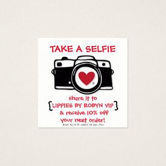 Discount Selfie Card - Photo Card - Discounts