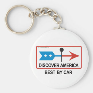 Discover America Keychain