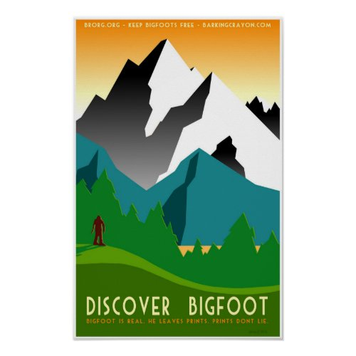 Discover Bigfoot in Colorful Mountains